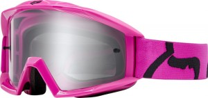 GOGLE FOX JUNIOR MAIN RACE PINK - SZYBA CLEAR YOS
