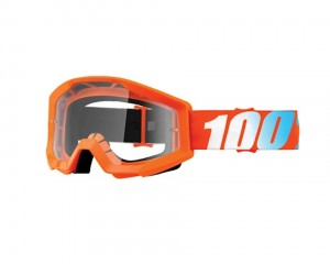 100 PROCENT GOGLE JUNIOR STRATA ORANGE