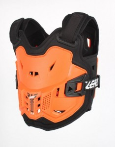 LEATT BUZER CHEST PROTECTOR 2.5 KIDS ORANGE/BLACK