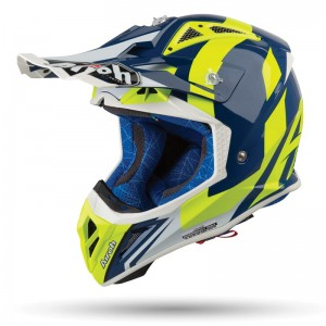 KASK AIROH AVIATOR 2.3 AMSS BIGGER BLUE GLOSS B18