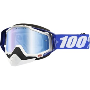 100 PROCENT GOGLE RACECRAFT RC SNOW BL/MIR