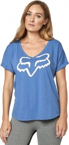 T-SHIRT FOX LADY RESPONDED BLUE/WHITE