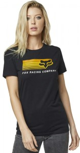 T-SHIRT FOX LADY DRIFTER BLACK MX20