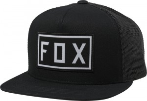 CZAPKA Z DASZKIEM FOX JUNIOR DRIVETRAIN SNAPBACK BLACK MX20