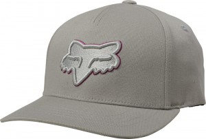 CZAPKA Z DASZKIEM FOX JUNIOR EPICYCLE 110 SNAPBACK GREY/PNK MX20