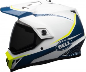 KASK BELL MX-9 ADVENTURE MIPS TORCH WHITE/BLUE/YELLOW